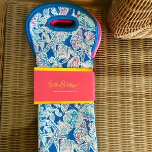 NWOT Lilly Pulitzer Wine Totes (2)